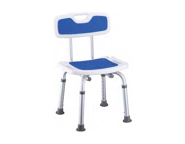 Sillas y taburetes de ducha orto vitality for Altura silla